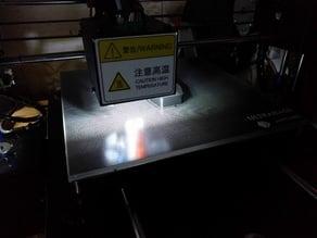 LED upgrade on Anycubic i3 Mega