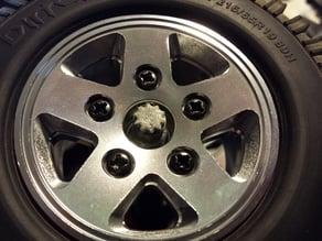 RC Car Wheel Caps for M4 Axle