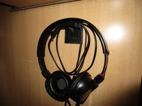 Headphones holder (wall mount) with SONY logo