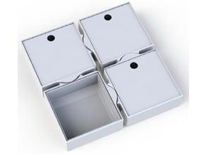 Four Way Puzzle Storage Box