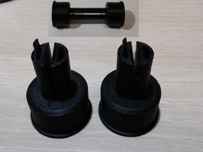 120 Takeup Spool for 35mm Film: Remix without supports