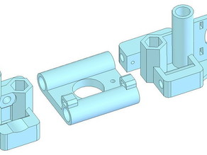 new x end and idler for mendel prusa