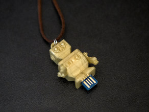 USB Charger Charm Robot