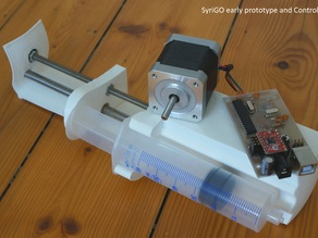 SyriGo - Open Hardware Programmable Syringe Pump