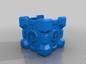 Selesnya Conclave Companion Cube Commander Size - Deck Box