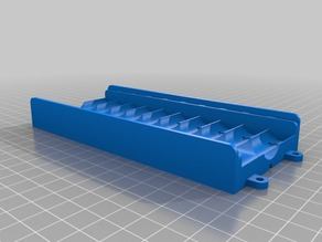 10 Battery box for AA cells