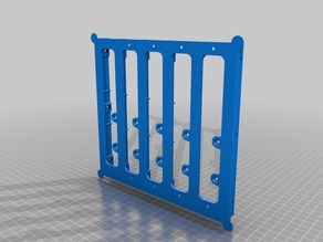 Modified sides for Small Storage System rack.