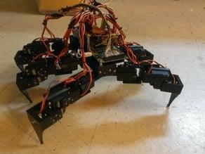 Hexapod MG995 Servos