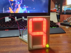 "4"" Seven Segment LED Display"