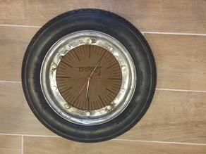 Vespa clock 2.0