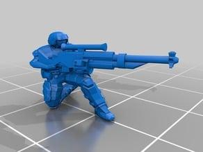 28mm SciFi halfling sniper