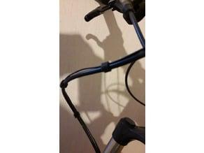 Zaczep przewodu licznika rowerowego