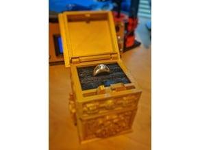 Ring display lining for Tudor box