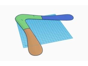 Two-Blade Boomerang (module/pieces)