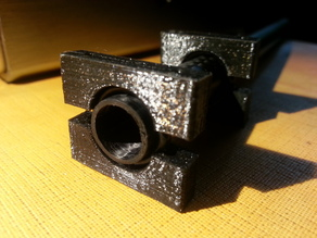 12mm Carbon Tube Anti Vibration Motor Mount Clamps
