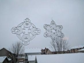 Porg Snowflakes for Lasercutting