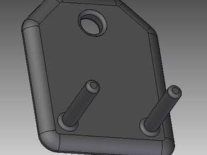 Tweezers Holder for 40mm Bosch-profile