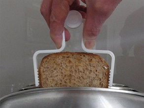 Toast Extractor... the safe and easy way to remove toast from a toaster