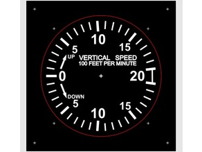 Vertical Speed Indicator - Robin DR400