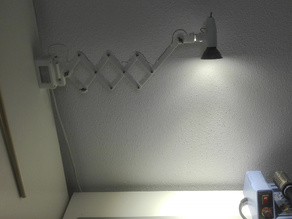 Oldstyle mini Scissor Lamp, GU5.3 LED