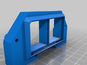 Modular Prusa X-carriage & e3D Chimera mount (layers fans, bed levelling, cable chain)