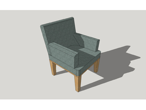 Modern chair / modern koltuk-diorama