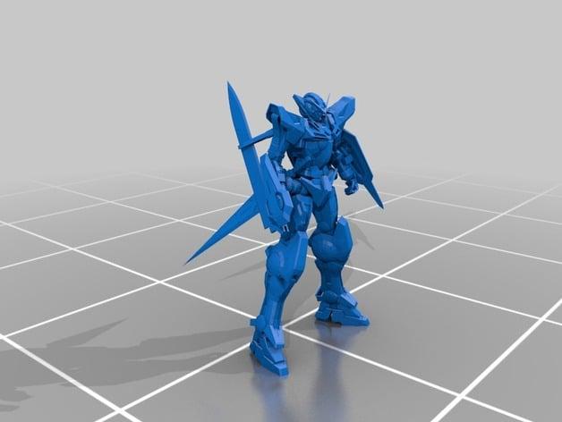 Gundam exia by mrgundam thingiverse for Stl file sketchup