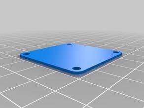 Stack plate for flight controller like Naze32, Flip, CC3D, etc.