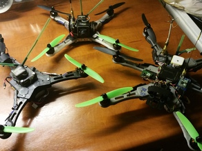 Mini FPV Racing Quad- / Hexa- / Tri Copter