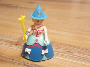 Playmobil fairy hat and magic wand