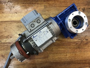 Electrical terminal cover for Motovario industrial gearbox motor