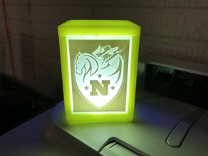 Small Lithophane Lamp (75mm Lithophanes)