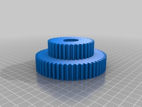 55/35 special gear set for pi approximation on Harrison lathe