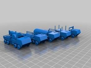 Assorted 8 Wheel Trucks in N scale