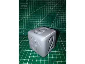Teach Numbers Cube 6cm