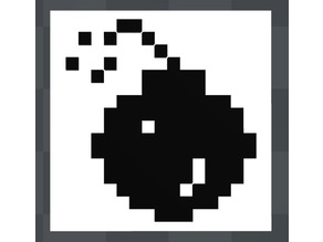Atari St Bomb crash icon magnet