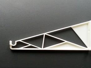 Filament Shelf Bracket ( 17g weight, up to 4,5 kg )