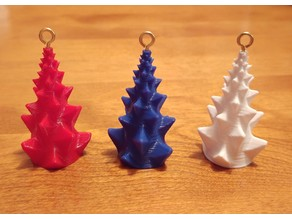 Fractal Tree Ornaments