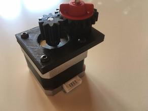 Fischertechnik stepper motor gear