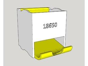Caja apilable para baterías 18650