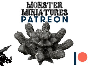Cthougdax - JOIN OUR Monster Miniature PATREON