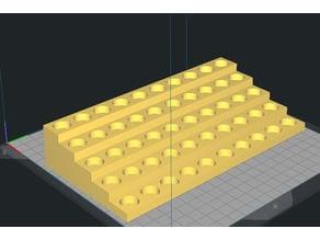 Reloading block tray steps Pistol