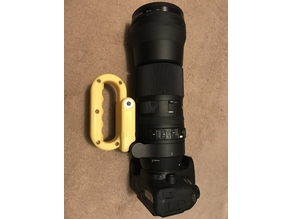 Handle for Sigma 150-600mm Contemporary lens