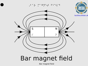 Tactile Diagram Bar Magnet