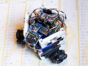W3W-Bot , a Wifi 3-wheeled robot
