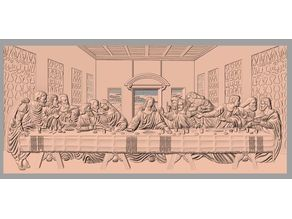 Last Supper watertight relief
