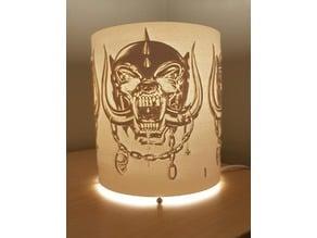 Lamp Shade Motörhead style