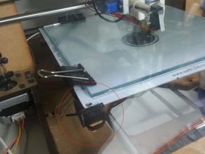 Grabber I3 Bed Auto Level planar bed support - Y axis