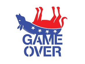 Game Over stencil pack