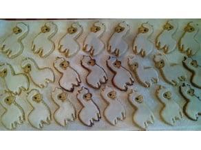Alpaca & Llama Cookie Cutter Set